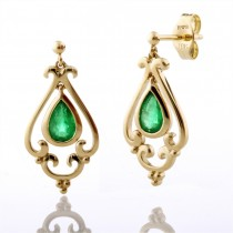 Filagree Frame Earrings