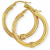 Plain and Twisted Hoops
