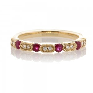 Diamond and Ruby Band