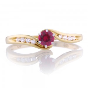 Ruby Wrap Around Ring