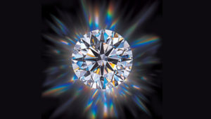 The beauty of diamond is how its cut