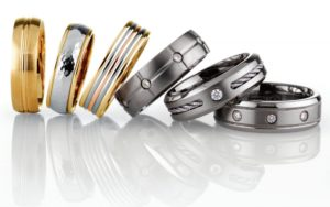 Wedding Ring Stack
