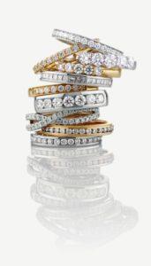 Ladies Wedding Ring Stack