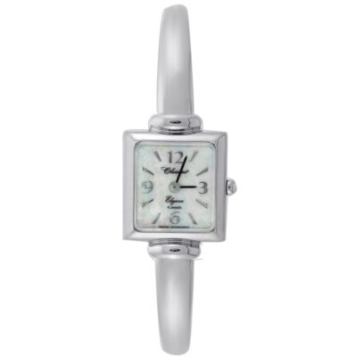 Square Dial Bangle Watch