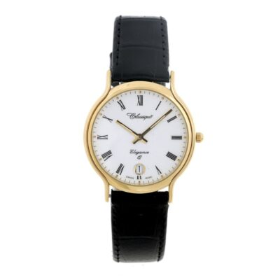 Classique Leather Band Watch