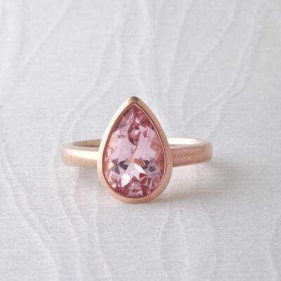 Morganite Dress Ring