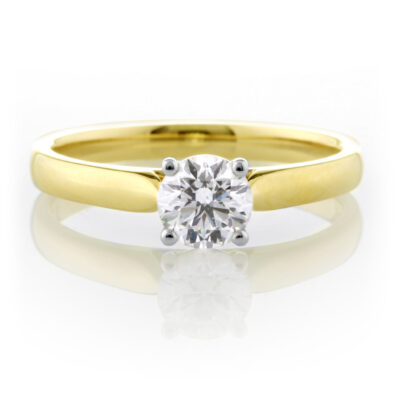 Stunning Brilliant Cut Ring