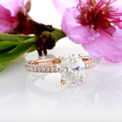 Oval Diamond Dream Ring