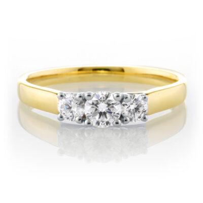 Trilogy Diamond Ring