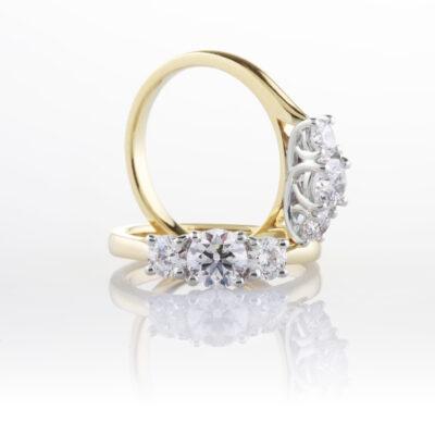 Elegant Trilogy Ring