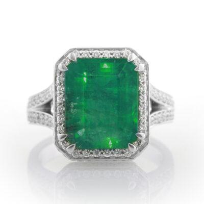 6.5ct Emerald Dress Ring