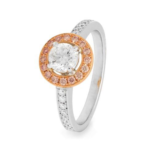 Argyle Halo Ring