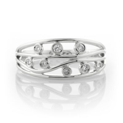 Scrolled Dress Ring