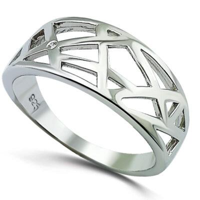 Web Style Dress Ring