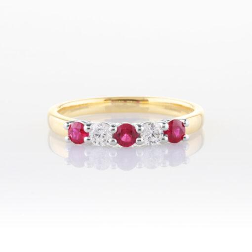 Ruby Anniversary Ring