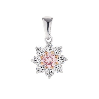 Pink Diamond Flower Cluster