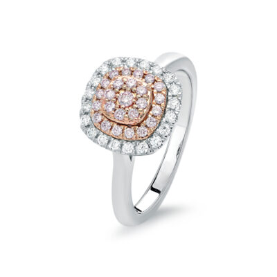 Multi Halo Dress Ring