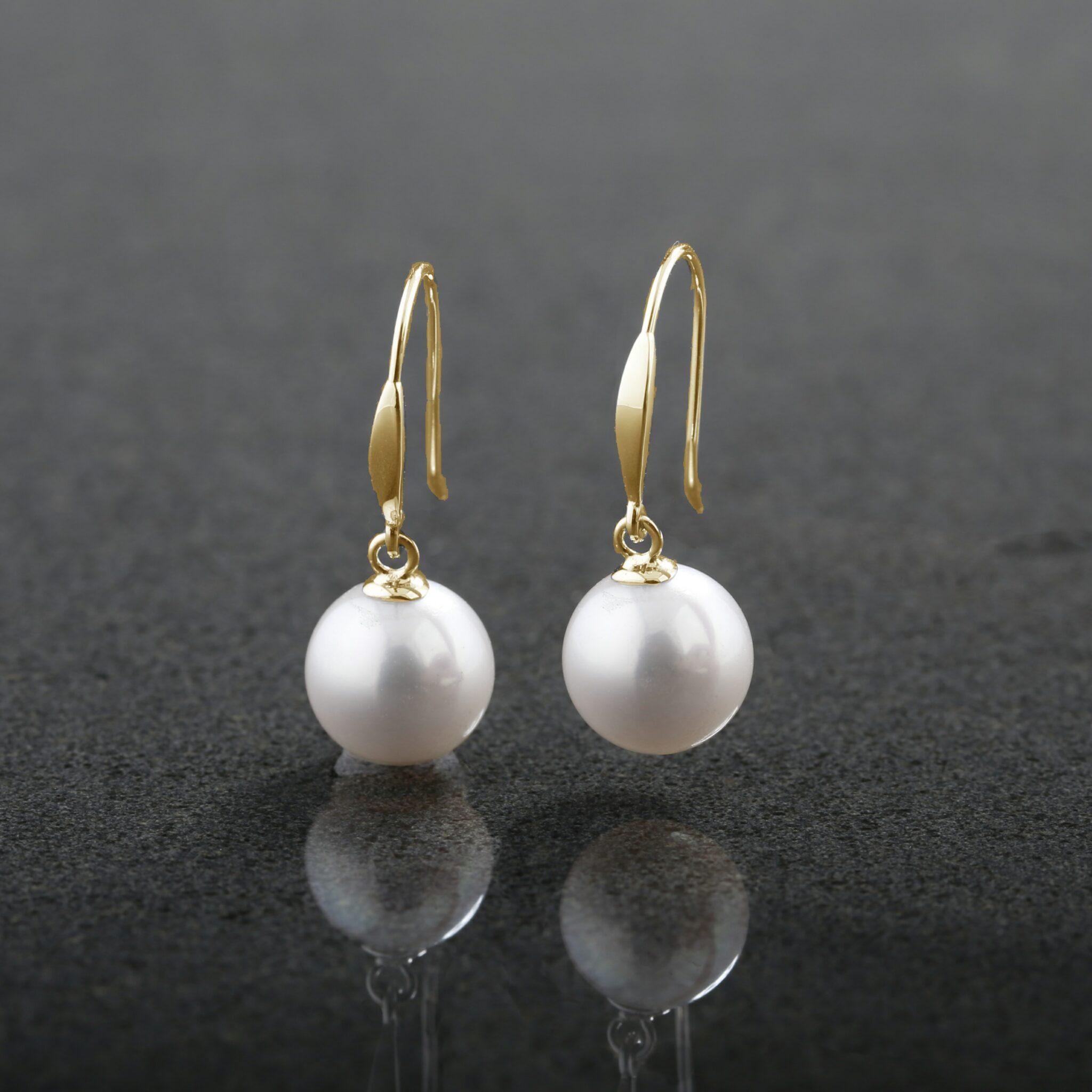 Cultured Pearl Wide Hooks