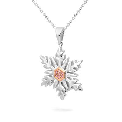 Argyle Snowflake Pendant