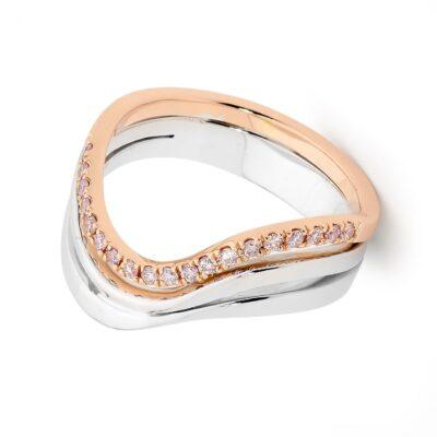 Argyle Wave Ring