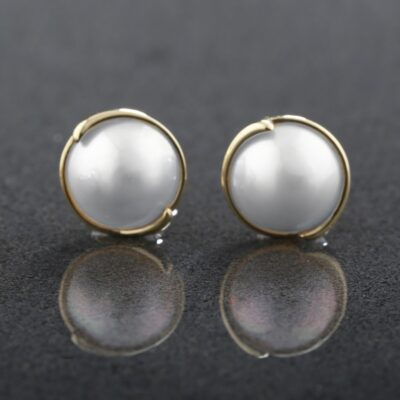 Mabe Pearl Studs