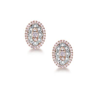 Oval Stud Clara Earrings