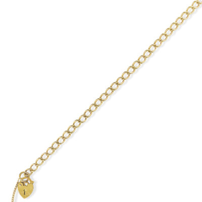 Curb Link Charm Bracelet