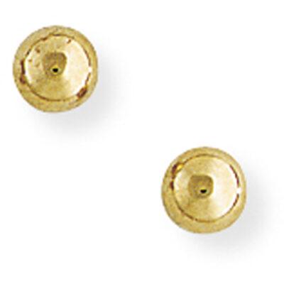 4mm Ball Stud Earrings