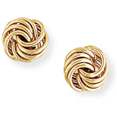 Flat Knot Earrings