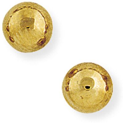 7mm Ball Stud Earrings