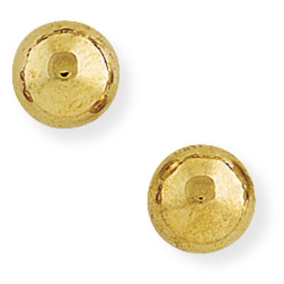 8mm Ball Stud Earrings