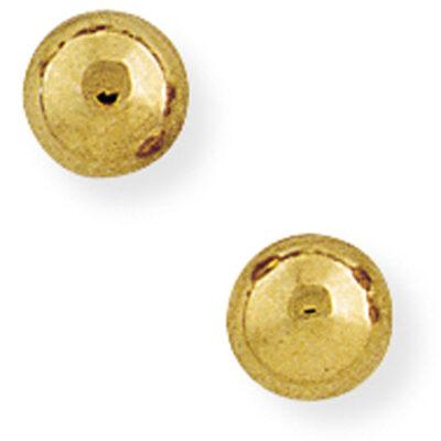 6mm Ball Stud Earrings