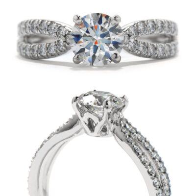 Envelop Engagement Ring