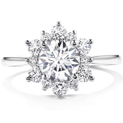 Delight Lady Di Cluster Ring