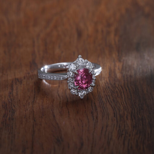 Mahenge Pink Spinel Ring
