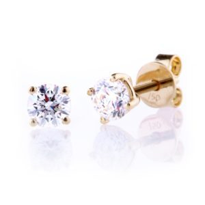 Diamond Set Studs